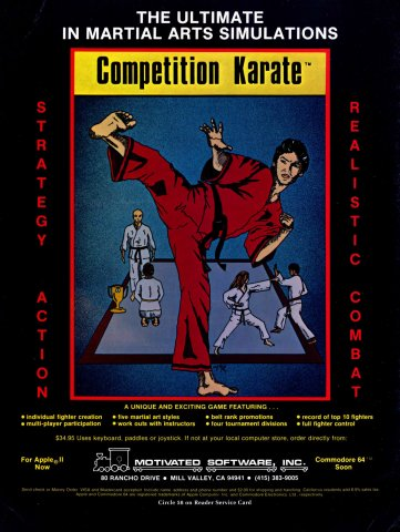 Competition Karate (2)