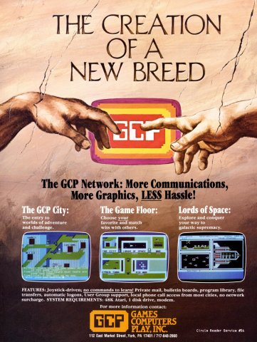 Games Computers Play (GCP) (1985)
