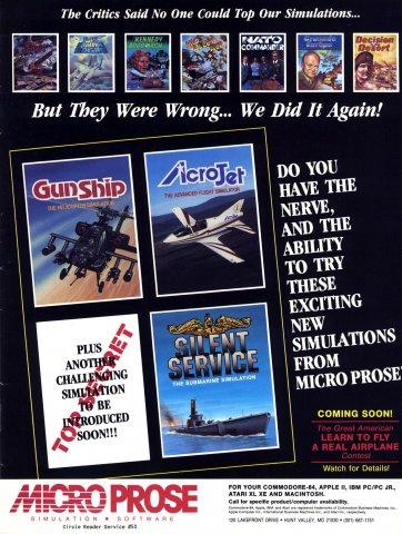 Gunship, AcroJet, Silent Service