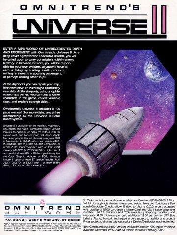 Universe II