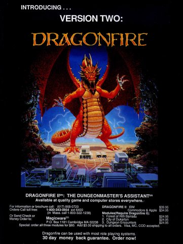 Dragonfire II: The Dungeonmaster's Assistant