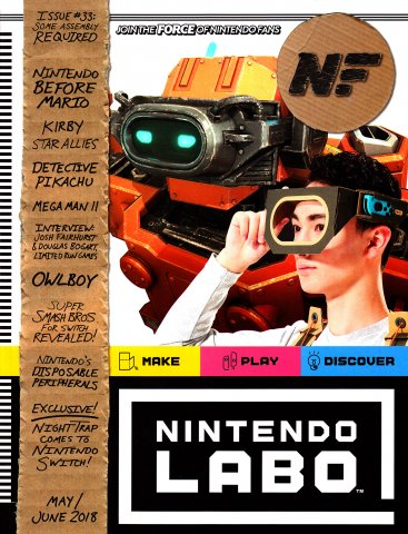 Nintendo Force Issue 33 May/June 2018