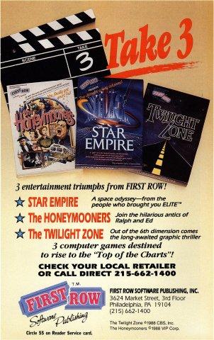 Honeymooners, Star Empire, Twilight Zone