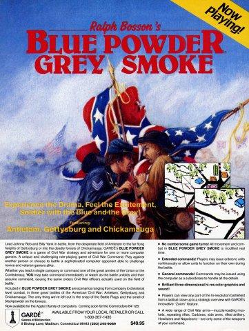 Blue Powder, Grey Smoke