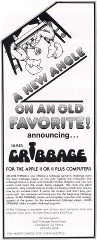 Hi-Res Cribbage