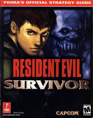 Resident Evil Survivor Official Strategy Guide