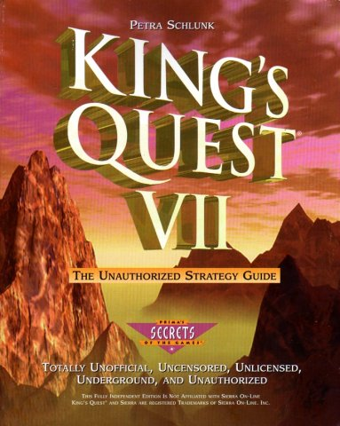 King's Quest VII Unauthorized Strategy Guide