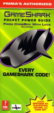 GameShark Pocket Power Guide From CodeBoy With Love (5th Edition)