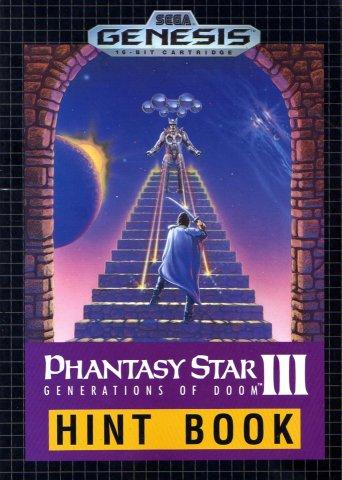 Phantasy Star III: Generations of Doom Hint Book