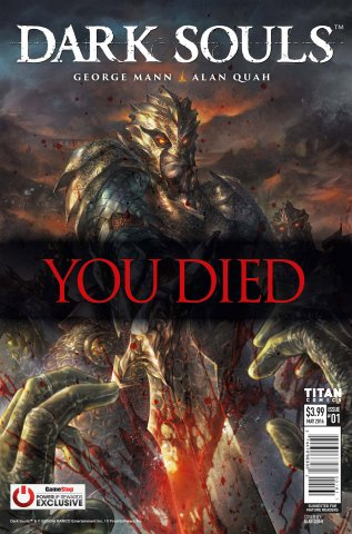 Dark Souls: The Breath of Andolus 001 (May 2016) (GameStop variant)