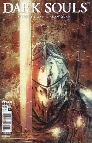 Dark Souls: The Breath of Andolus 003 (August 2016) (SDCC variant)