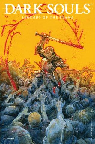 Dark Souls: Legends of the Flame 001 (September 2016) (cover b)