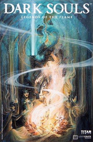 Dark Souls: Legends of the Flame 001 (September 2016) (Loot Crate variant)
