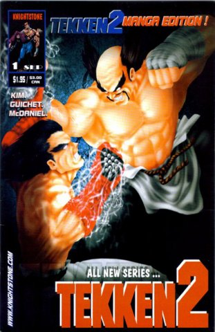 Tekken 2 01 (September 1998) (manga edition)