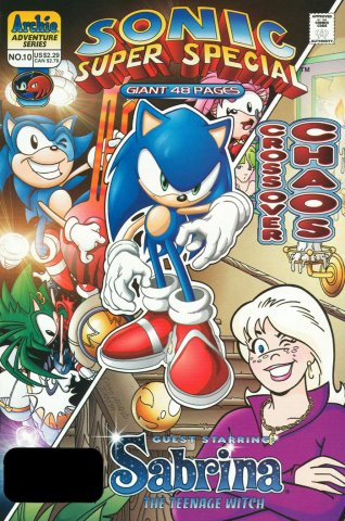 Sonic Super Special 10 Crossover Chaos (September 1999)