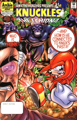 Knuckles the Echidna 30 (November 1999)