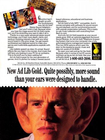 Ad Lib Gold