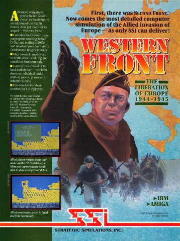 Western Front: The Liberation of Europe 1944-1945
