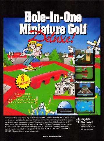 Hole-In-One Miniature Golf Deluxe!