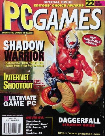 PC Games Vol. 04 No. 01 (January 1997)