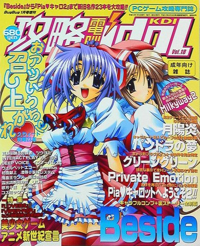 Kouryaku Dennou idol Vol.18 (January 2002)