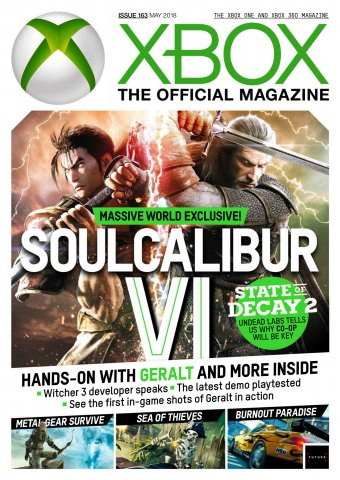 XBOX The Official Magazine Issue 163 (May 2018)