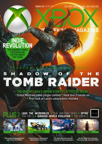 XBOX The Official Magazine Issue 164 (June 2018)
