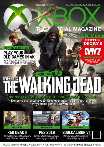 XBOX The Official Magazine Issue 165 (July 2018)