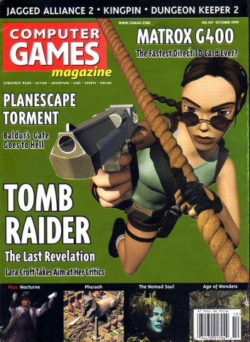 Computer Games Magazine Issue 107 (October 1999)