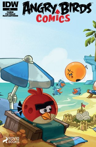 Angry Birds Comics 03 (August 2014) (cover a)
