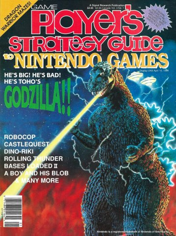 Game Player's Strategy Guide to Nintendo Games Vol.3 No.1 (February/March 1990)