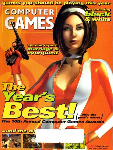 Computer Games Issue 125 (April 2001) *alternate cover*