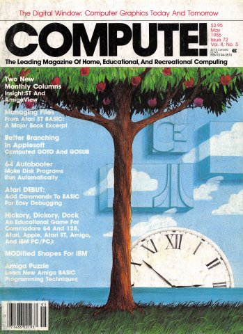 Compute! Issue 072 Vol. 8, No. 5 May 1986