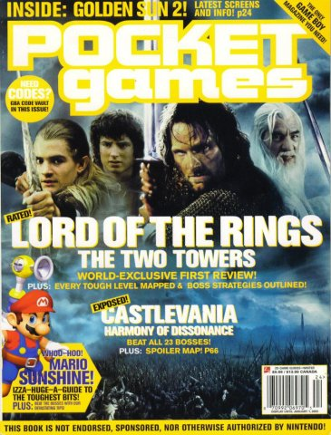 Pocket Games Issue 10 (Winter 2003)