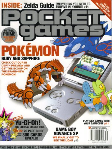Pocket Games Issue 11 (Spring 2003)