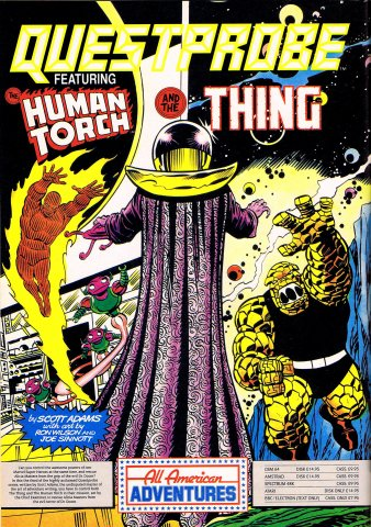 Questprobe: Featuring Human Torch and the Thing