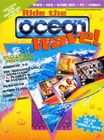 Ride the Ocean Wave (Game Players Nintendo Guide Supplement, 1992)