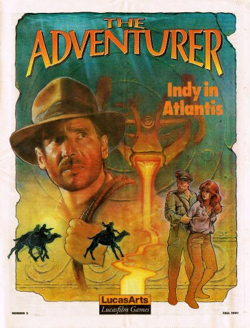 The Adventurer Issue 03 Fall 1991