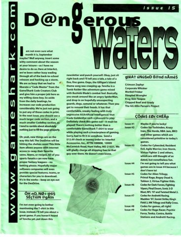 Dangerous Waters 15