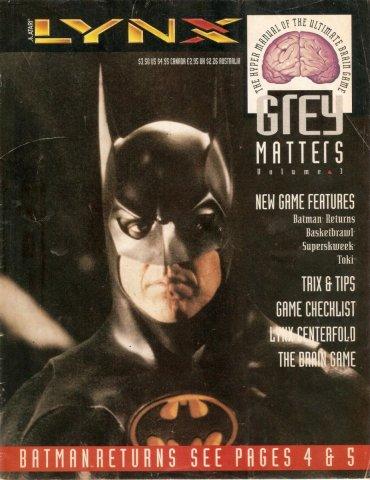 Lynx 1992 promo catalog cover