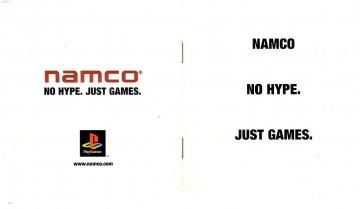 Namco PS1 catalog #1