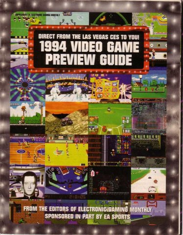 EGM presents 1994 Video Game Preview Guide