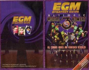 EGM players guide to Mortal Kombat 3