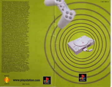 Sony PS1 promo booklet