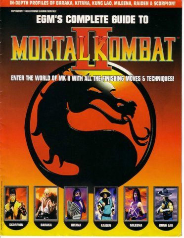EGM players guide to Mortal Kombat 2