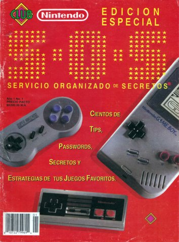 Club Nintendo (Mexico) 1992 Special Issue