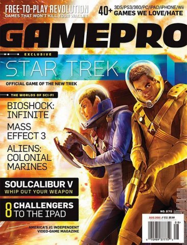 GamePro Issue 275 August 2011