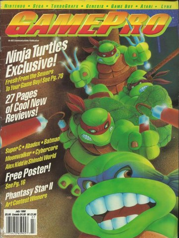Gamepro Issue 012 July 1990