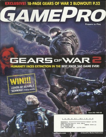 Gamepro Issue 242 November 2008