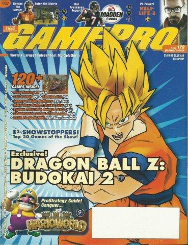 Gamepro Issue 179 August 2003